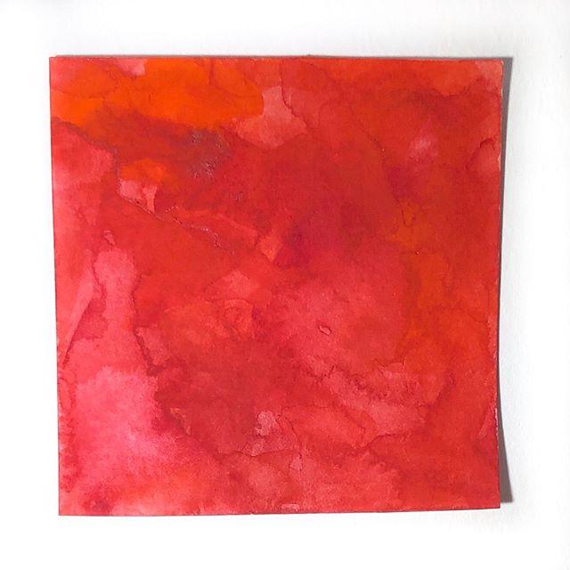 lipgloss #HandmadeWatercolors  #100DaysOfColorMixing #PyrroleOrange #QuinacridoneRose #CadmiumMaroon #The100DayProject #LimnColors