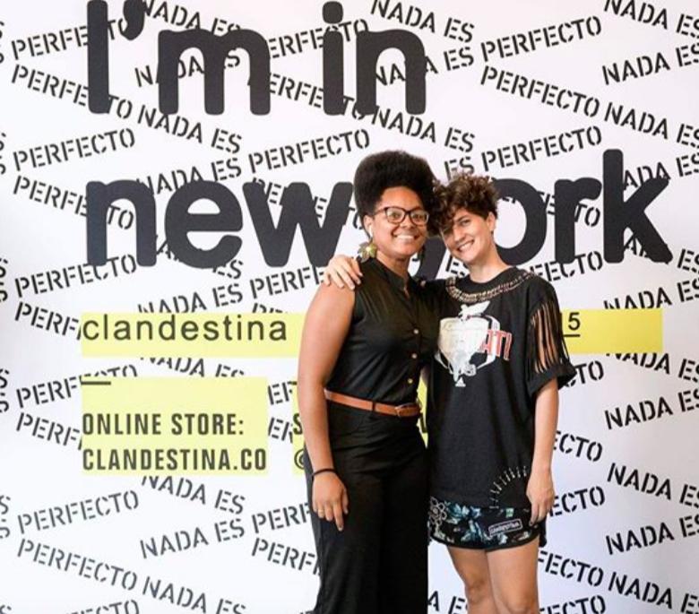 Yissy Garcia and Idania del Rio. Photo: Darian DiCianno