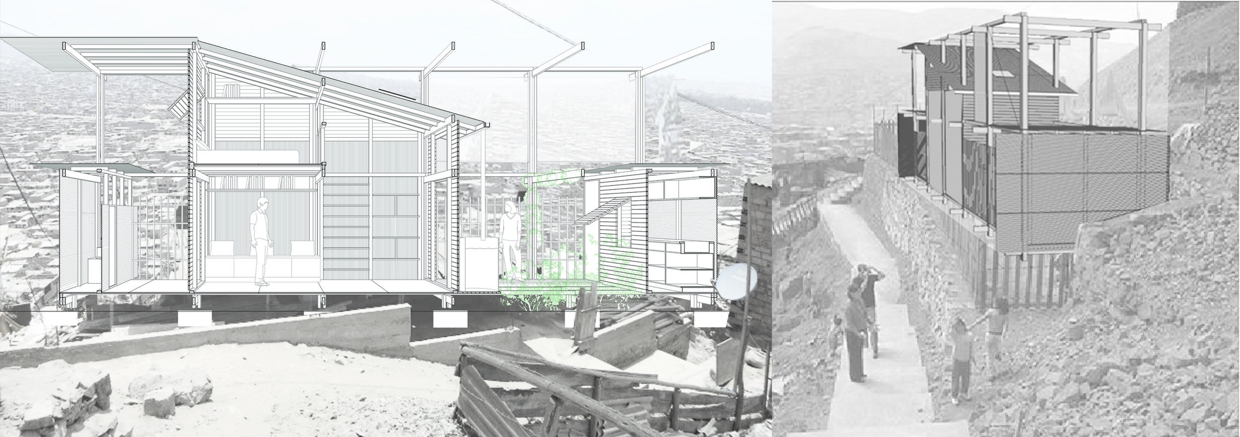 Our entry for Habitat for Inhabitants, International Prototype Housing Competition for slum communities in Lima, Perù, receives an Honourable Mention. Designed in collaboration with Sean Rafferty.   https://dnadd.org/concorsi-passati/