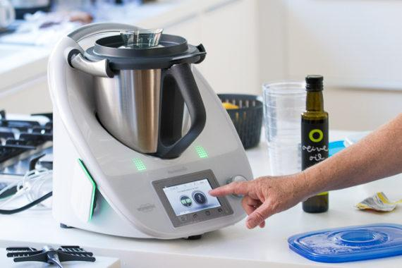 The Thermomix in action.