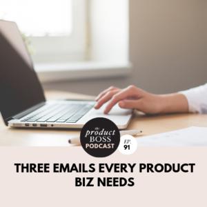 Emails Product Business Klaviyo