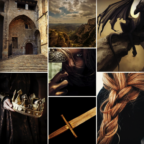 Moodboard for  The Executioner's Daughter .