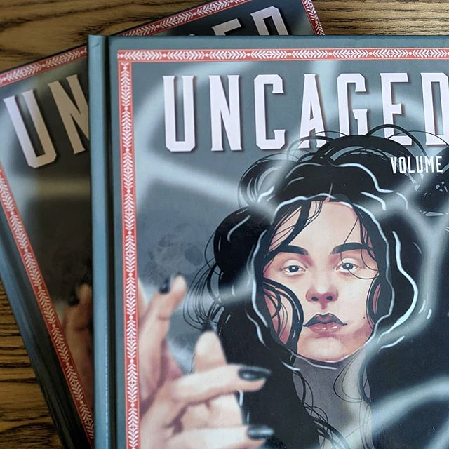 #UncagedAnthology Vol. II is available in both print and digital now! This book is a beautiful collection of some of the best art and writing in the #DnD community. Check out the #1 bestseller on DMsGuild.com!