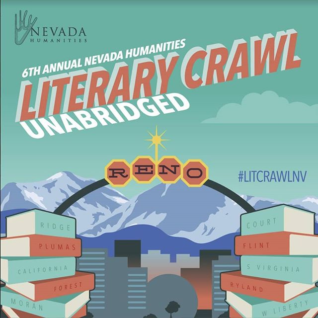 Join me on September 14 for this year's Nevada Humanities Literary Crawl! I'll be running a fun group narrative game inspired by gambling/Nevada and also doing a book signing. The event is free! Hope to see you there! #LitCrawlNV