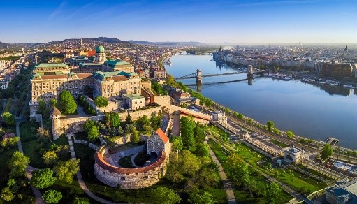 Budapest Castle - Take a tour to the imposing Buda Castle which overlooks the city from its elevated position atop Várhegy (Castle Hill), rising forty-eight meters above the Danube. The castle has had a tumultuous history that reflects the ups and downs of Hungary's fortunes. During this excursion you also will visit the Matthias Church and the spectacular Fisherman's Bastion. From here, you'll find some of the best views over the city and the Danube.