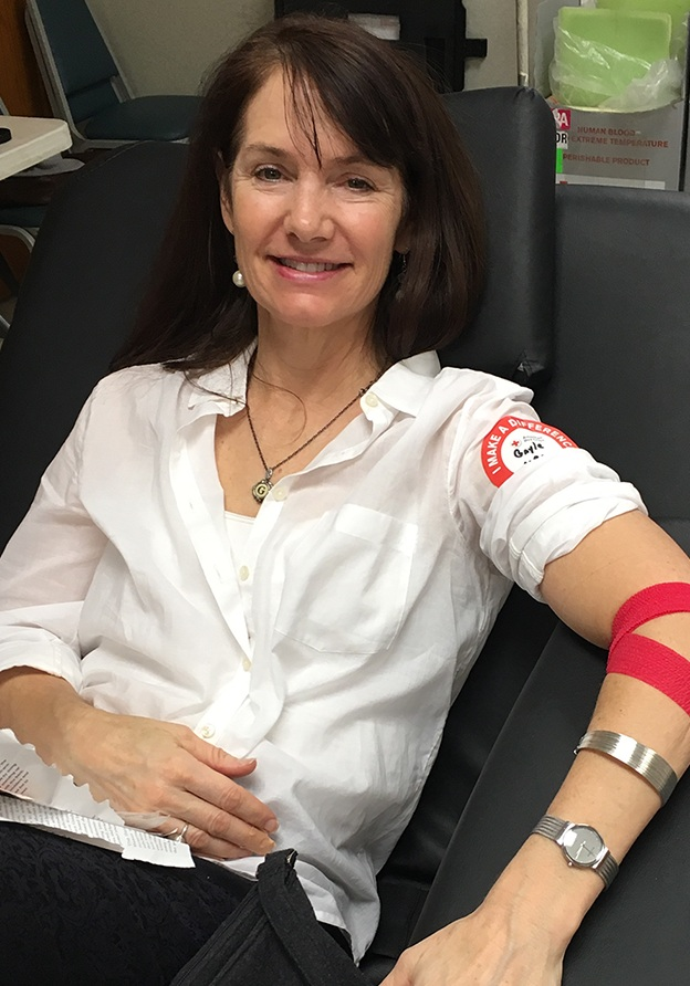 126 life-saving whole blood and platelet donations 5-time Red Cross blood drive coordinator -