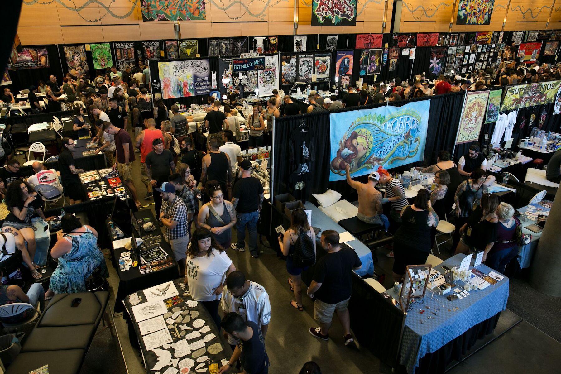 Seattle Tattoo Expo -