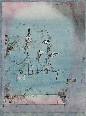 """The Twittering Machine"" by Paul Klee"