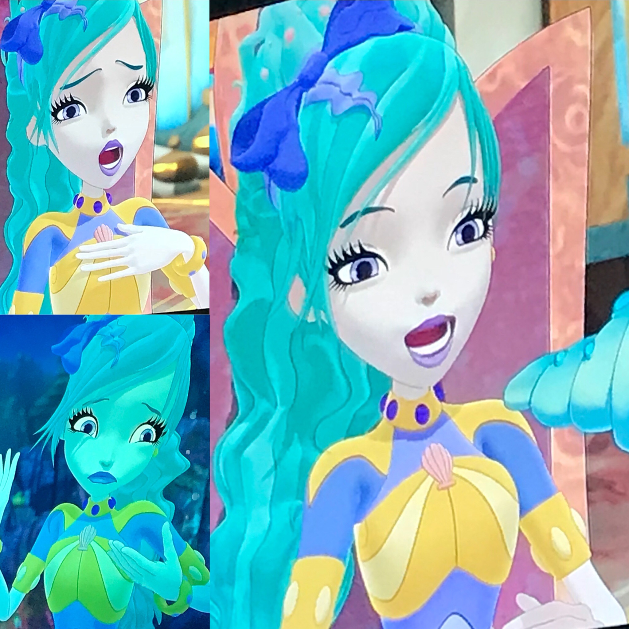 - Dreams do come true! Super excited to announce that after watching many Sunday morning cartoons as a kid, I have finally become one myself! You can catch me as The Little Mermaid on the latest episode of Regal Academy on Nick Jr!