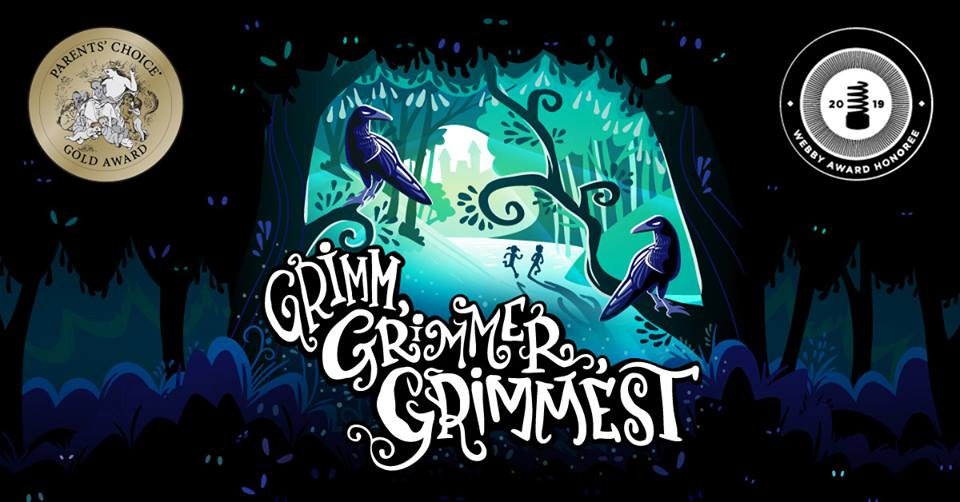 Super exciting news from  Pinna Audio ! Grimm, Grimmer, Grimmest was awarded a Gold Parents' Choice Award in the Audio category by the  Parents Choice Foundation ! AND we're a  Webby Awards  honoree for Best Kids/Family Podcast! So glad to have leant some voices to this fun podcast! If you haven't listened, check it out on iTunes or Google Play! Congrats to all!