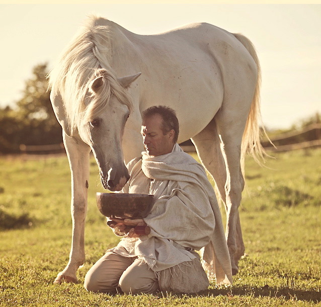 Mark in ceremony with horse.jpg