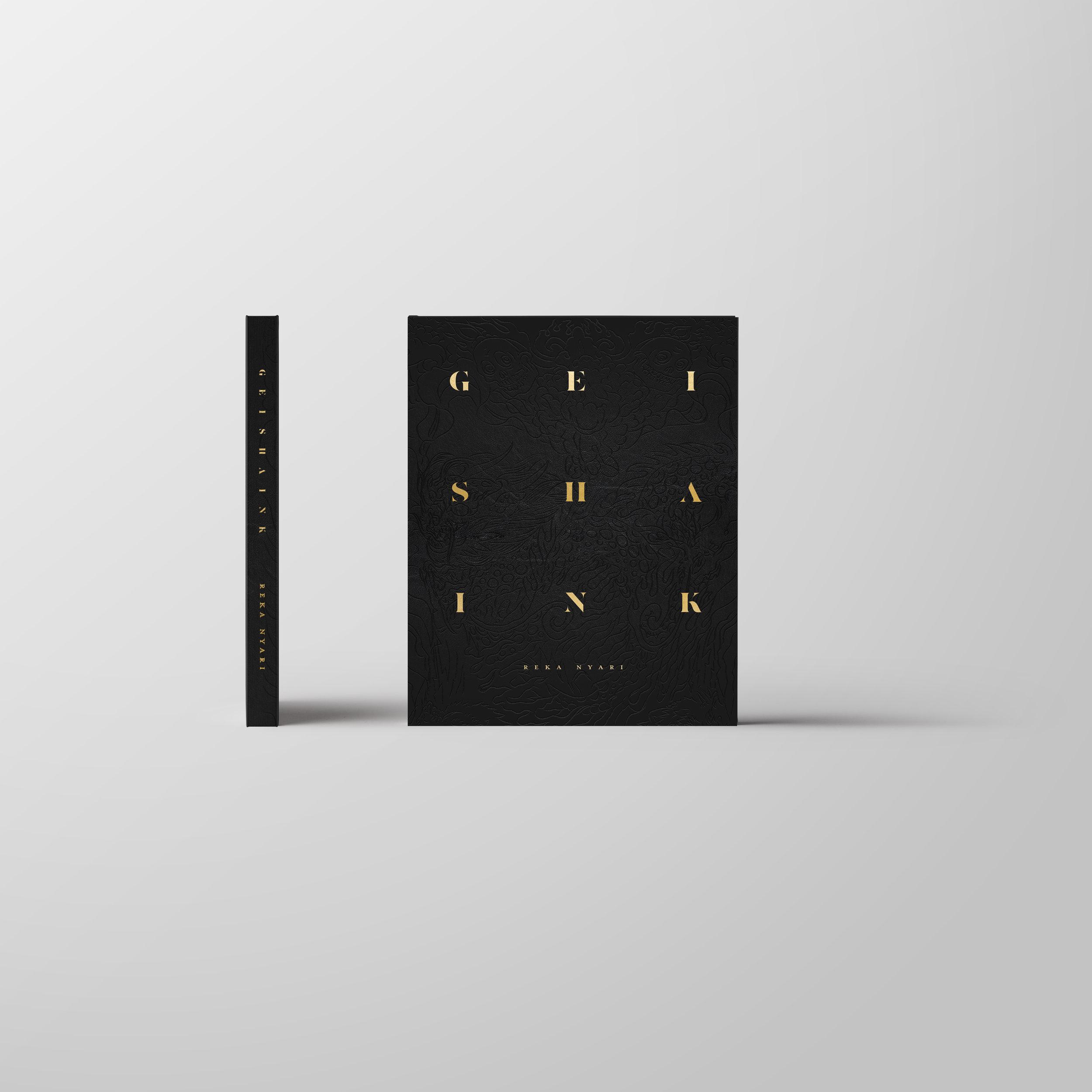 GEISHA INK BOOK, reka nyari, fine art book, geisha ink