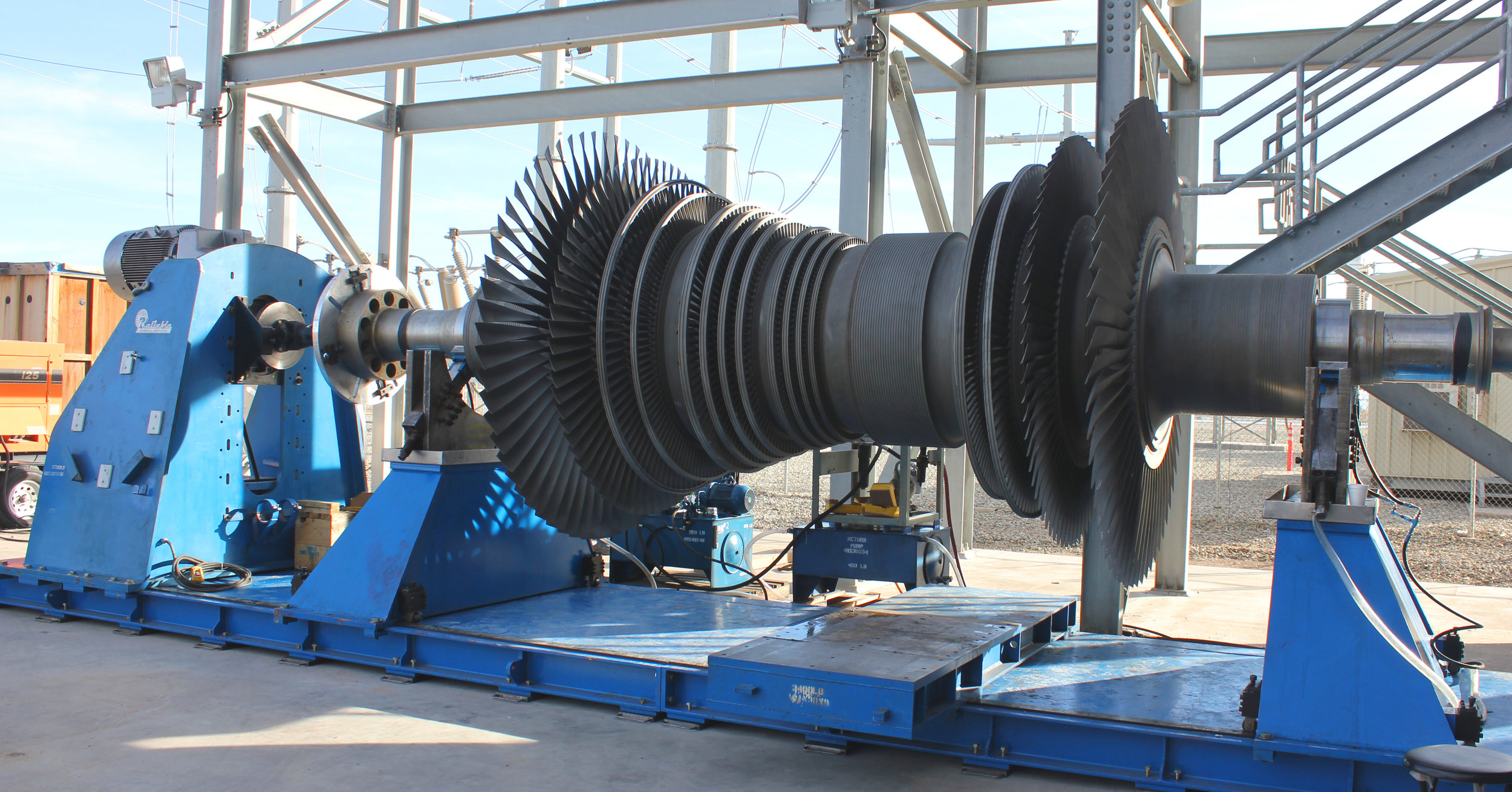 Large Turning Device