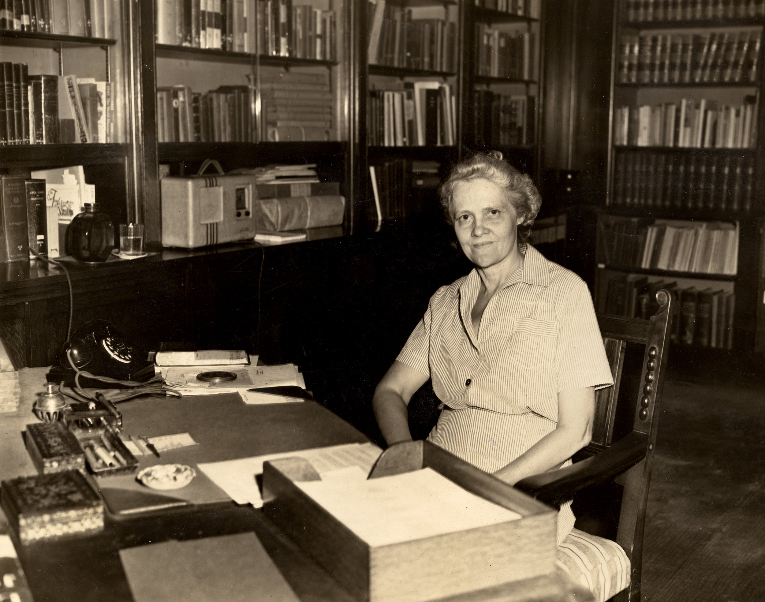 Julia Bedford Ideson, known as the first librarian of Houston