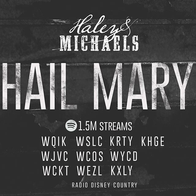 Hail Mary is such a special song to us. Thank you from the bottom of our hearts to the early believers! We are so grateful! #HailMary #NowPlaying 🙏🤘