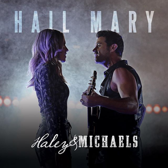 "DEBUT ALBUM!! So excited to share with you!! We are dropping our first full-length album on 10/4! Pre-order available now! Link in bio!! We are calling the album ""Hail Mary"" because it represents this chapter in our lives. We've been working on this album since we first became a duo and we can't WAIT to share it in its entirety with you!  Check in at happy hour today for another announcement. 🎧"