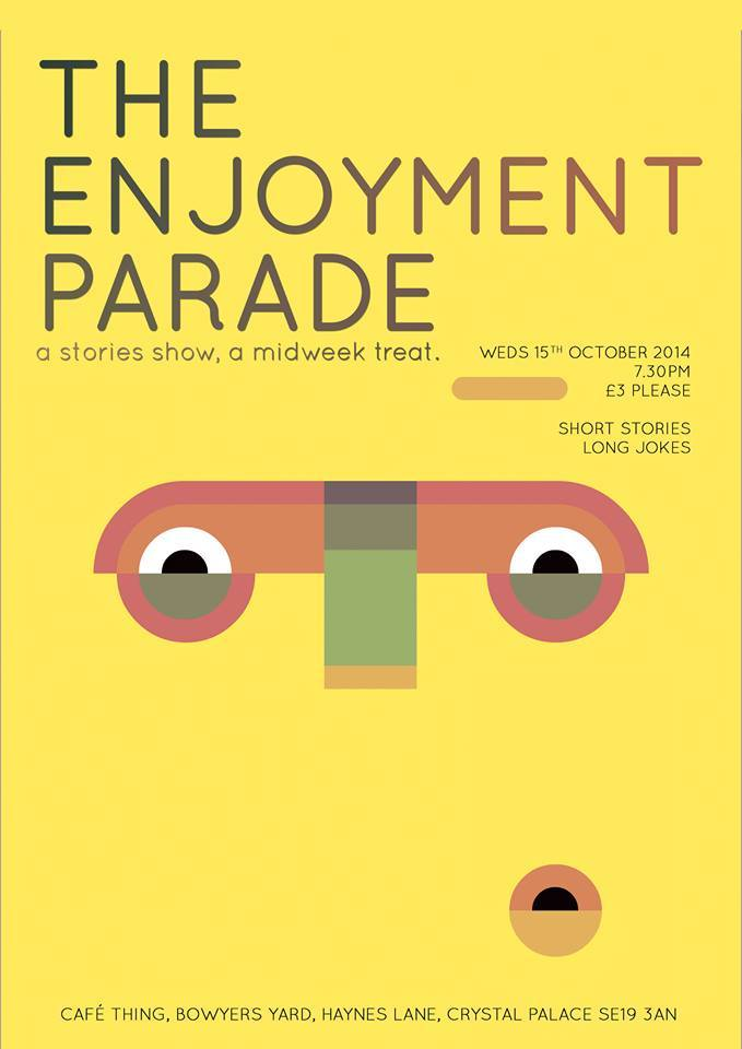 The Enjoyment Parade Poster
