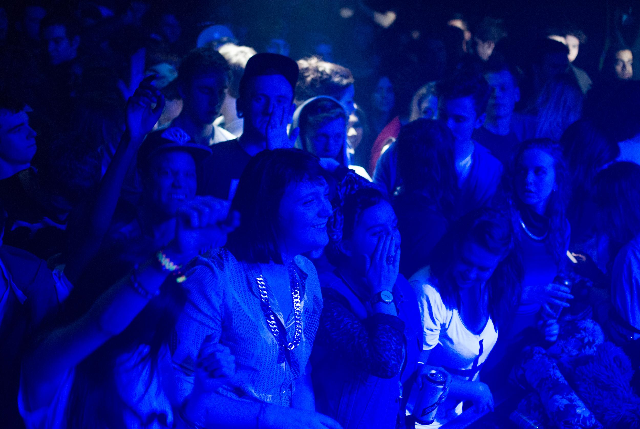 Front Row at Thekla