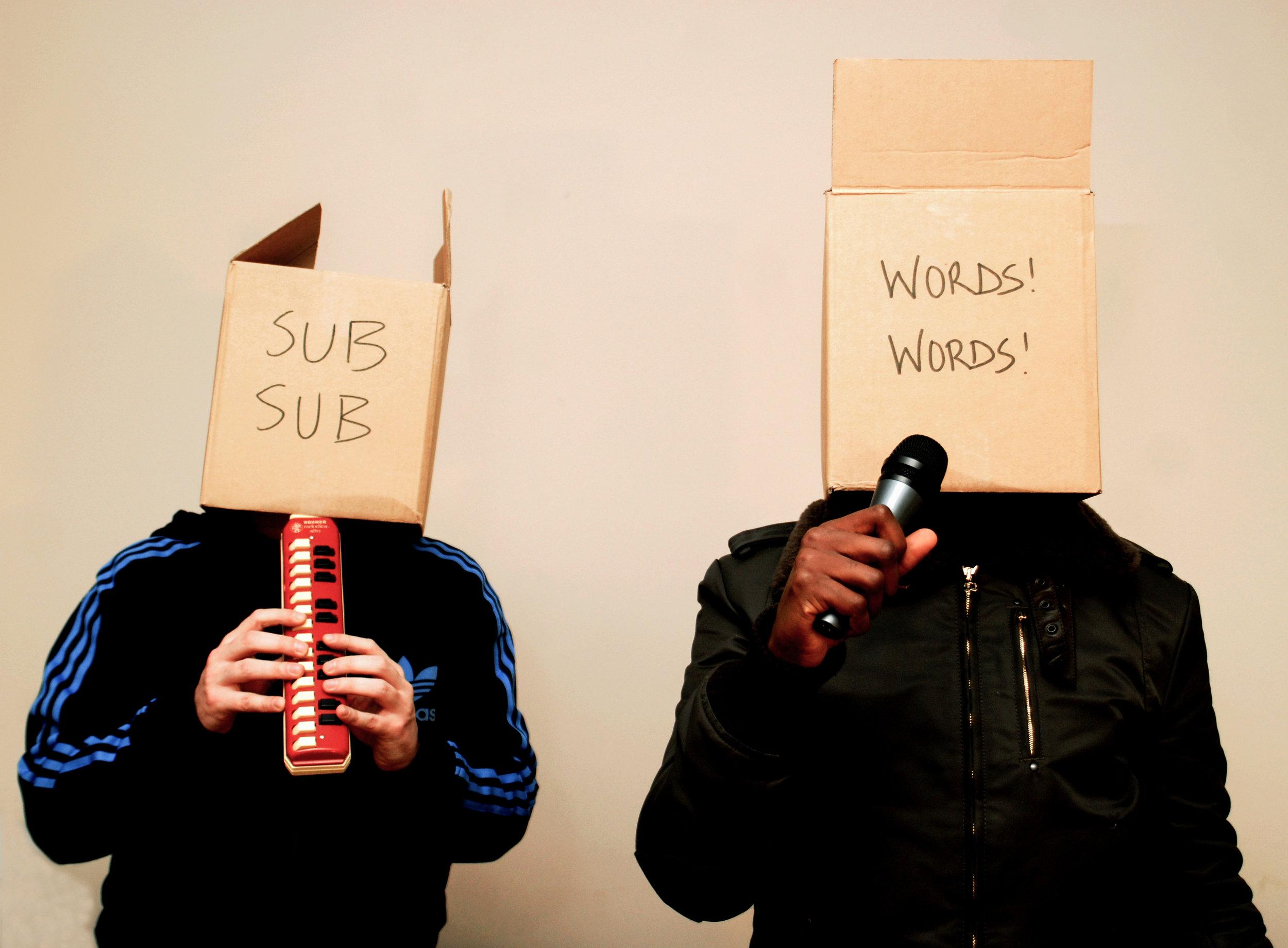 SUB-SUB, WORDS! WORDS! - KODE 9 & THE SPACEAPE (HYPERDUB).
