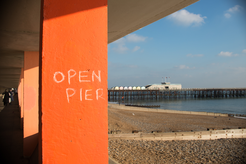 Open Pier Graffiti