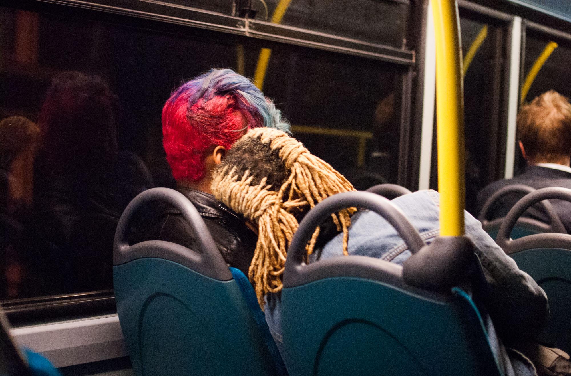 LADIES ON THE BUS