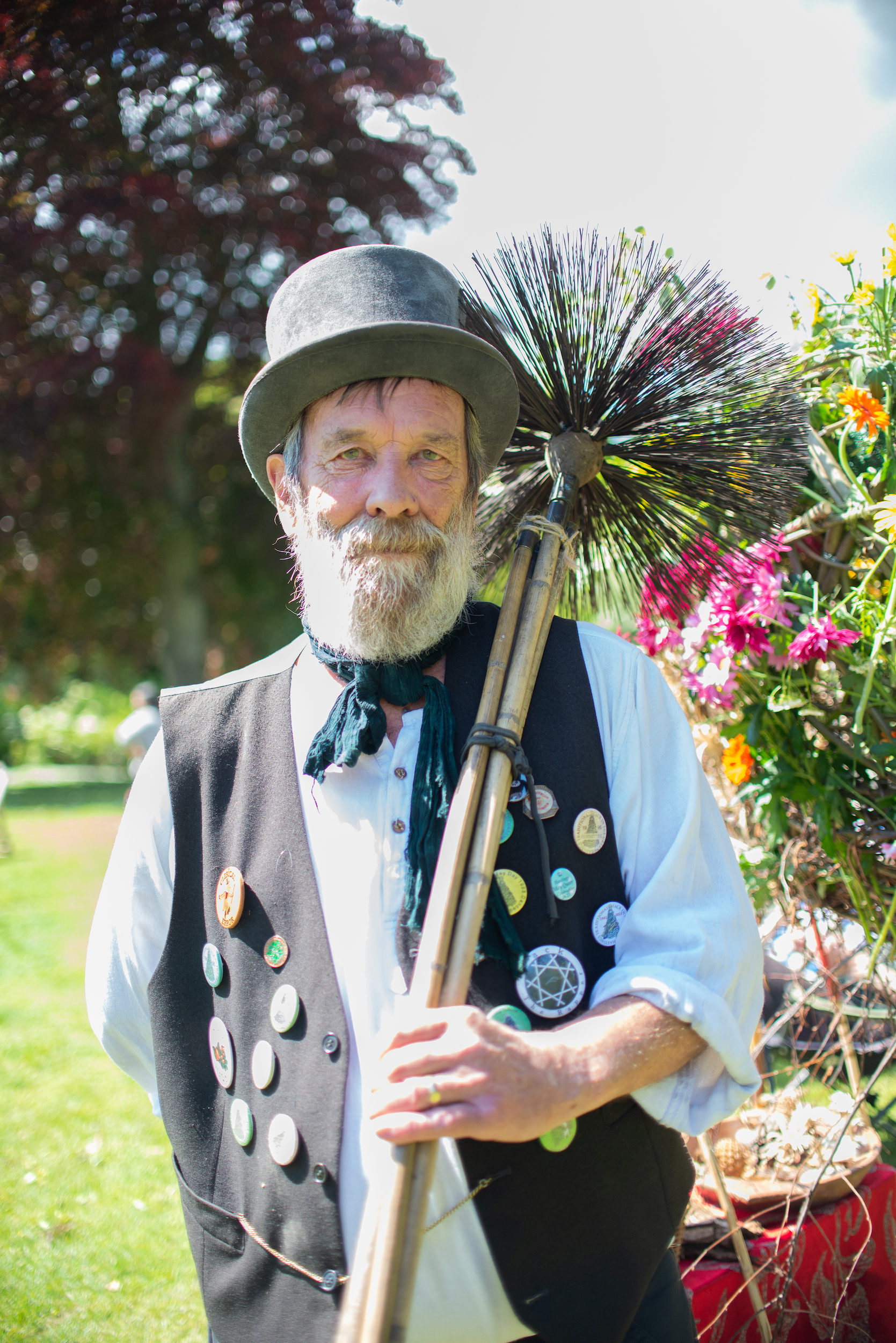 Barry Jones, Chimney Sweep
