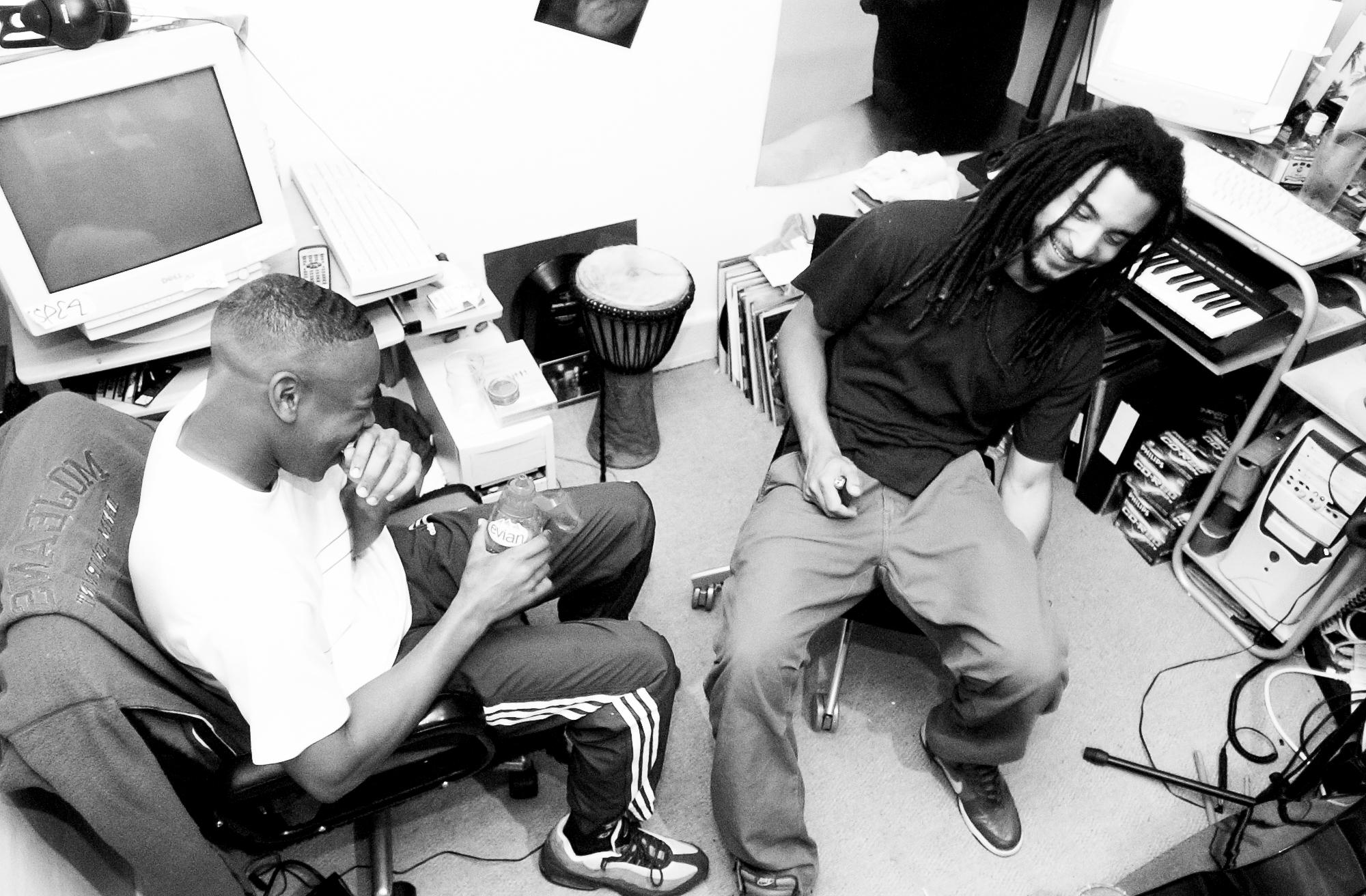 DIGITAL MYSTIKZ IN THE STUDIO, CROYDON, 2004