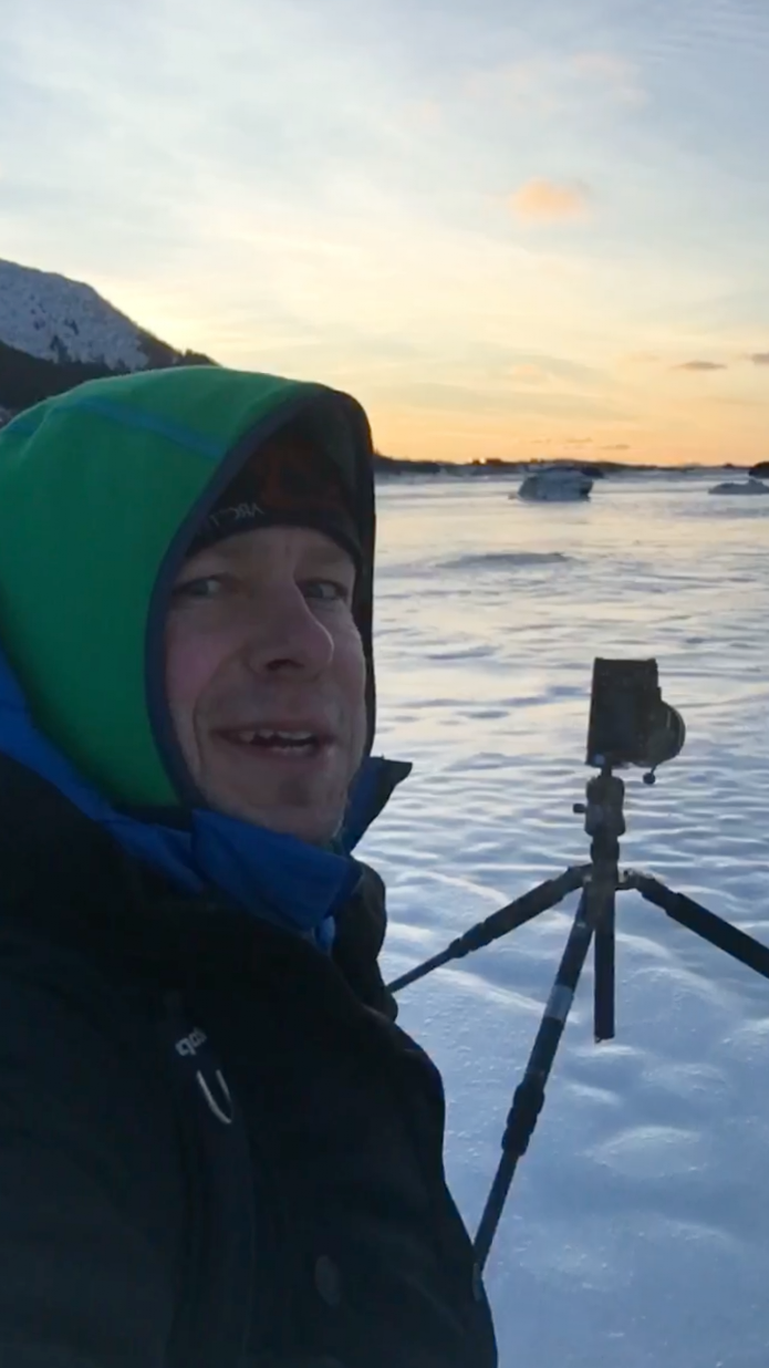when I am outside shooting in the arctic I need to trust my gear