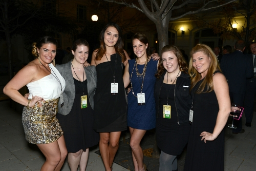 Meet the Social-ITes! - (pictured left to right) Leah Mackey Schultz,Lisa French,Krista Ashton,Ashley Nicholson,Katie Adkins, and Georgia Cross.