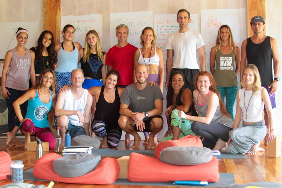 Yoga Collective Nosara 200 hour FoundationalTeacher Training -                                                  Yoga Alliance Registered Yoga School