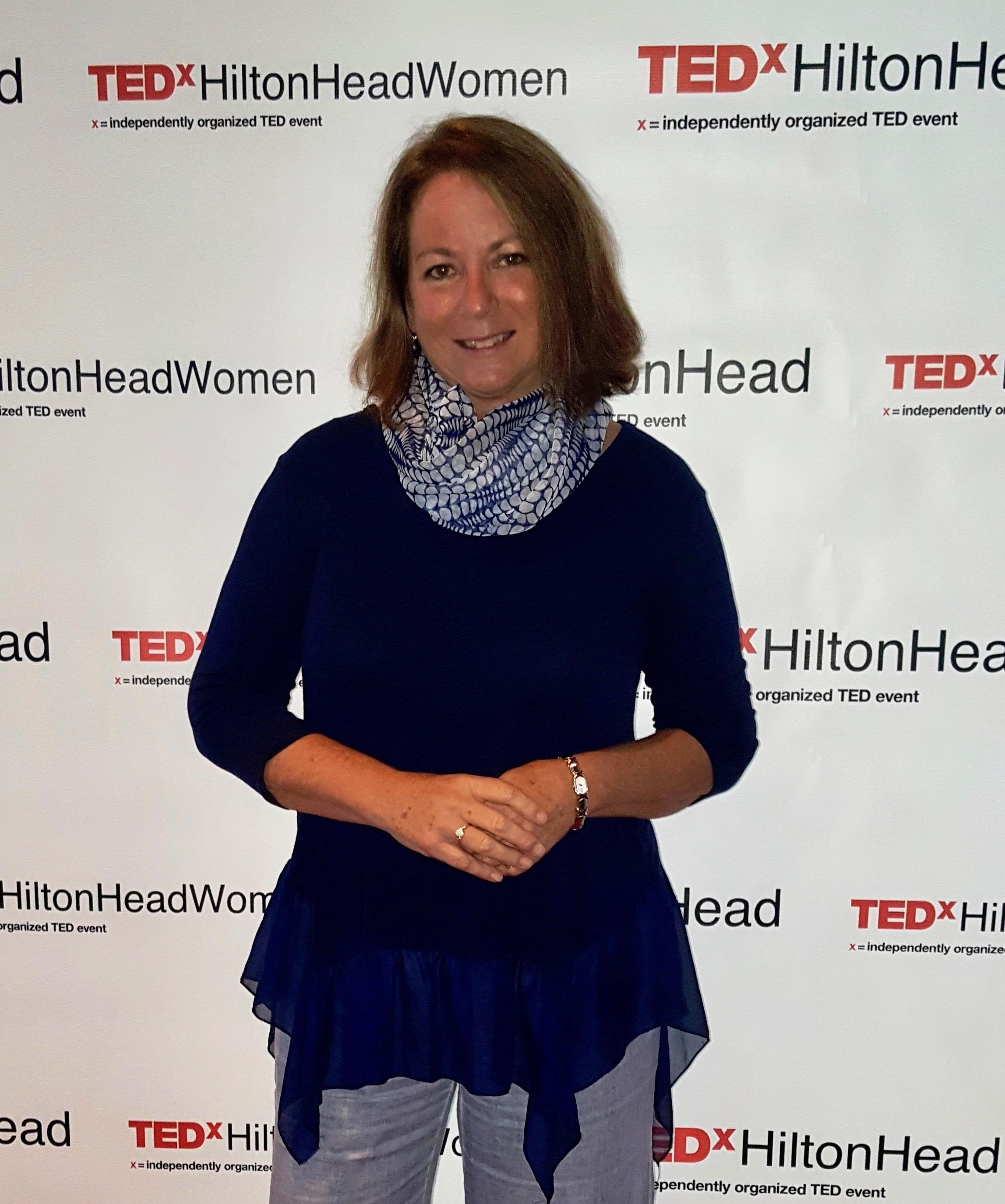 TEDxHiltonHeadWomen Speaker, 2018