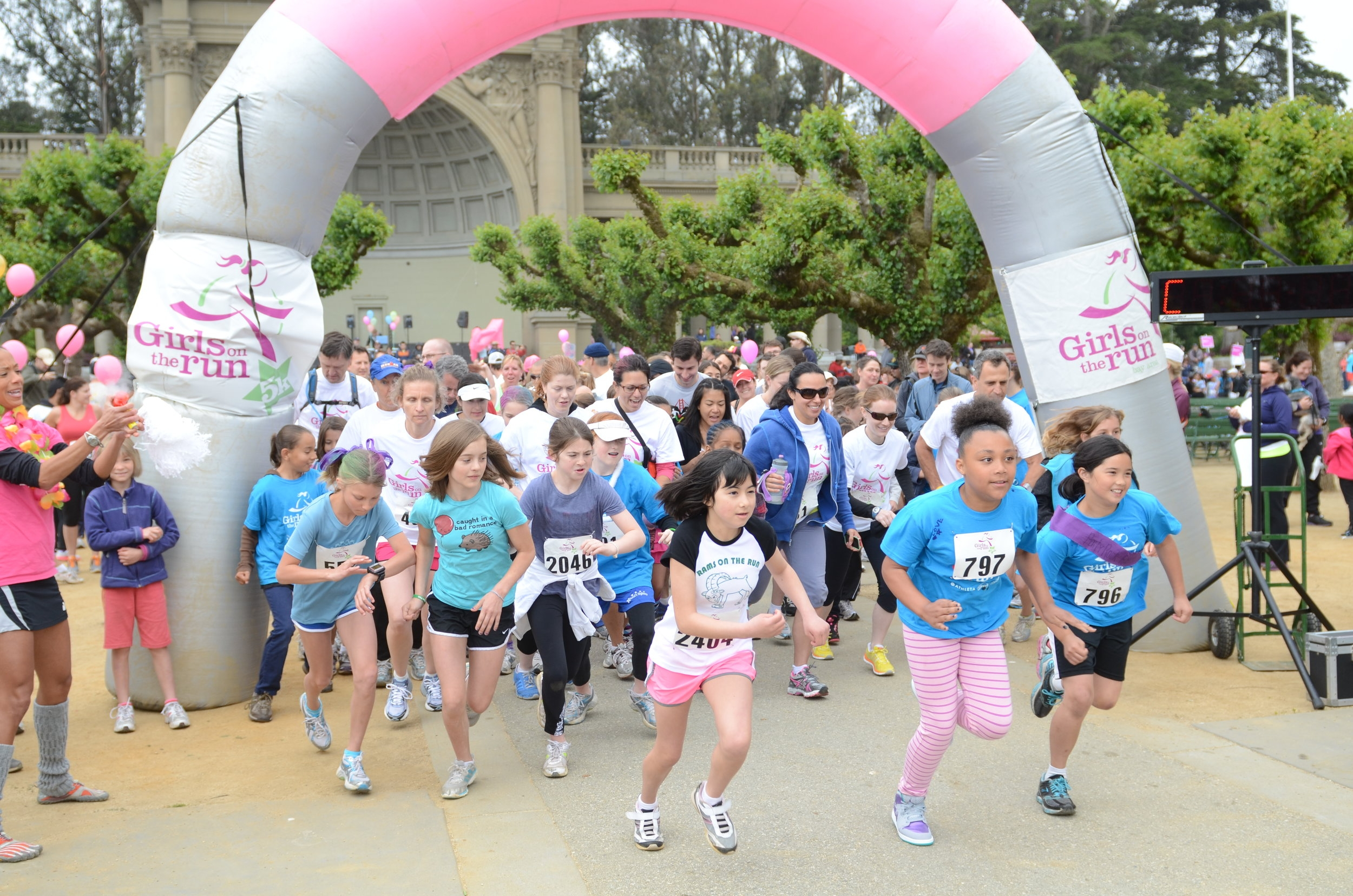 Girls on the Run Bay Area