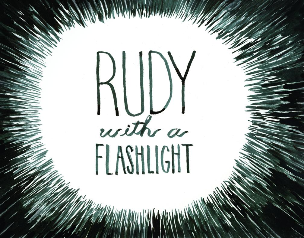 RUDY WITH A FLASHLIGHT ANIMATION