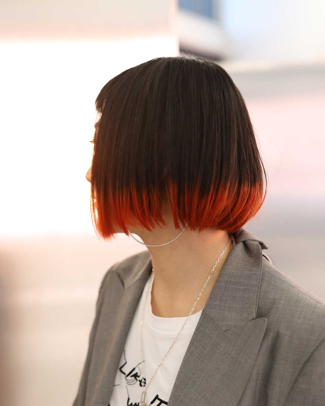 Orange hem colour - MENUCreative Colour, CutPRICEapprox. $270(Creative colour including bleach and colour $180, Cut from $90)TIMEapprox. 2.5 hours