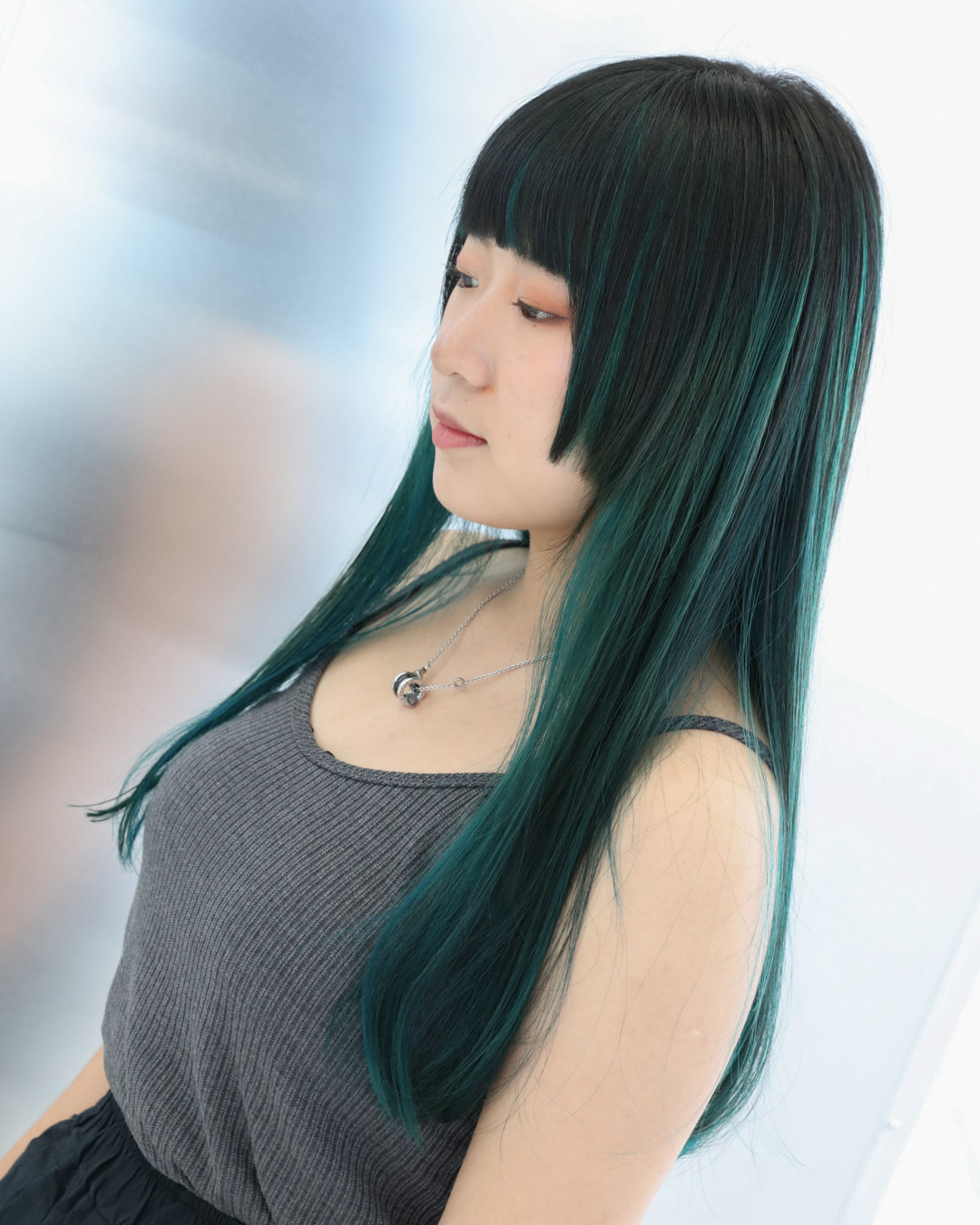 Green Highlight - MENUBalayage, Colour, Cut and stylePRICEapprox. $520(Balayage $260, Colour Long $170, Cut and style from $90)TIMEapprox. 4 hours