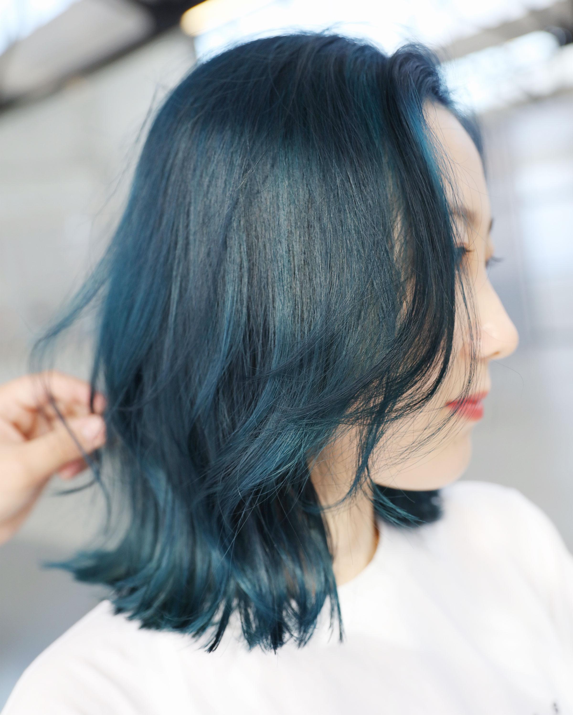 Turquoise Colour - MENUWhole-head bleach, creative colour, cut, treatmentPRICEapprox. $480 (Bleach medium $240+, Colour medium $110+, Cut $90 + Treatment $60)Timeapprox. 4 hours