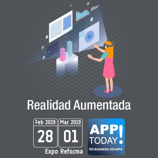 La #RealidadAumentada está siendo tendencia y se utilizó en el último mundial para poder hacer traducciones por medio de la cámara de un Smartphone en tiempo real! #AppToday