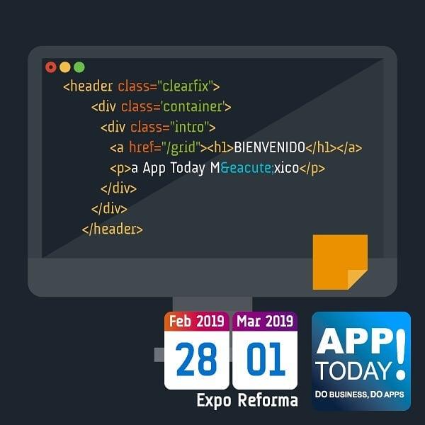 #AppTodayMx es un foro para los apasionados de la tecnología, síguenos!! #desarrolloweb #desarrollodesoftware #tecnologia
