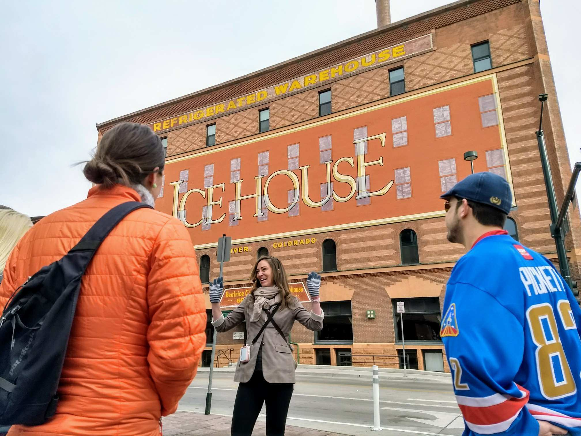 icehouse denver free walking tour