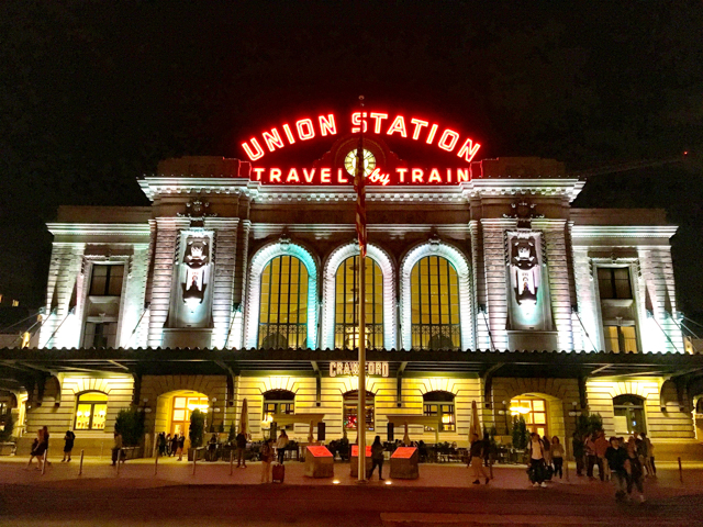 Denver Union Station at night.jpg