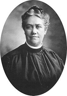 Alma White image courtesy Wikipedia