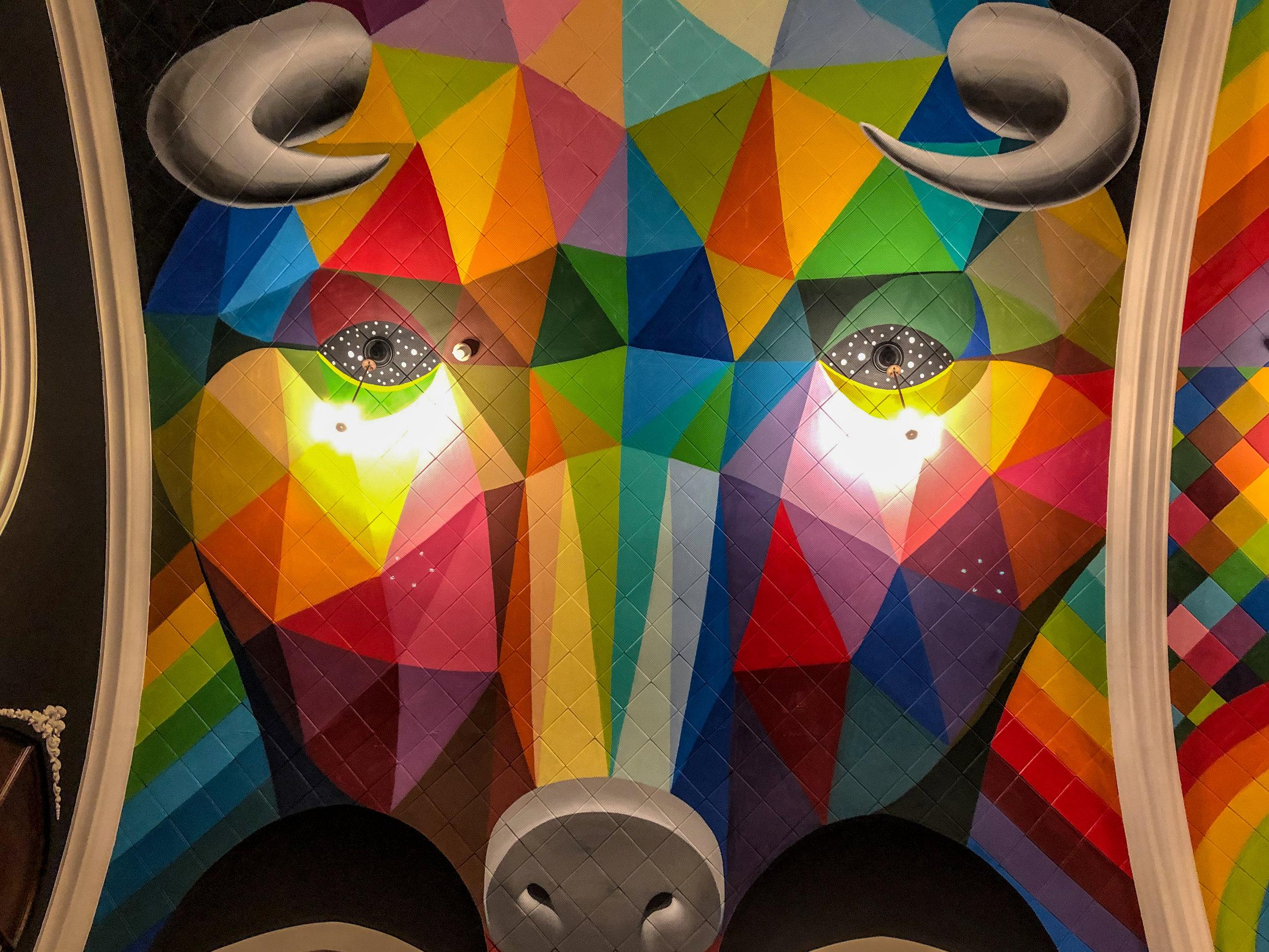 Bull ceiling mural by Okuda San MIguel.jpg