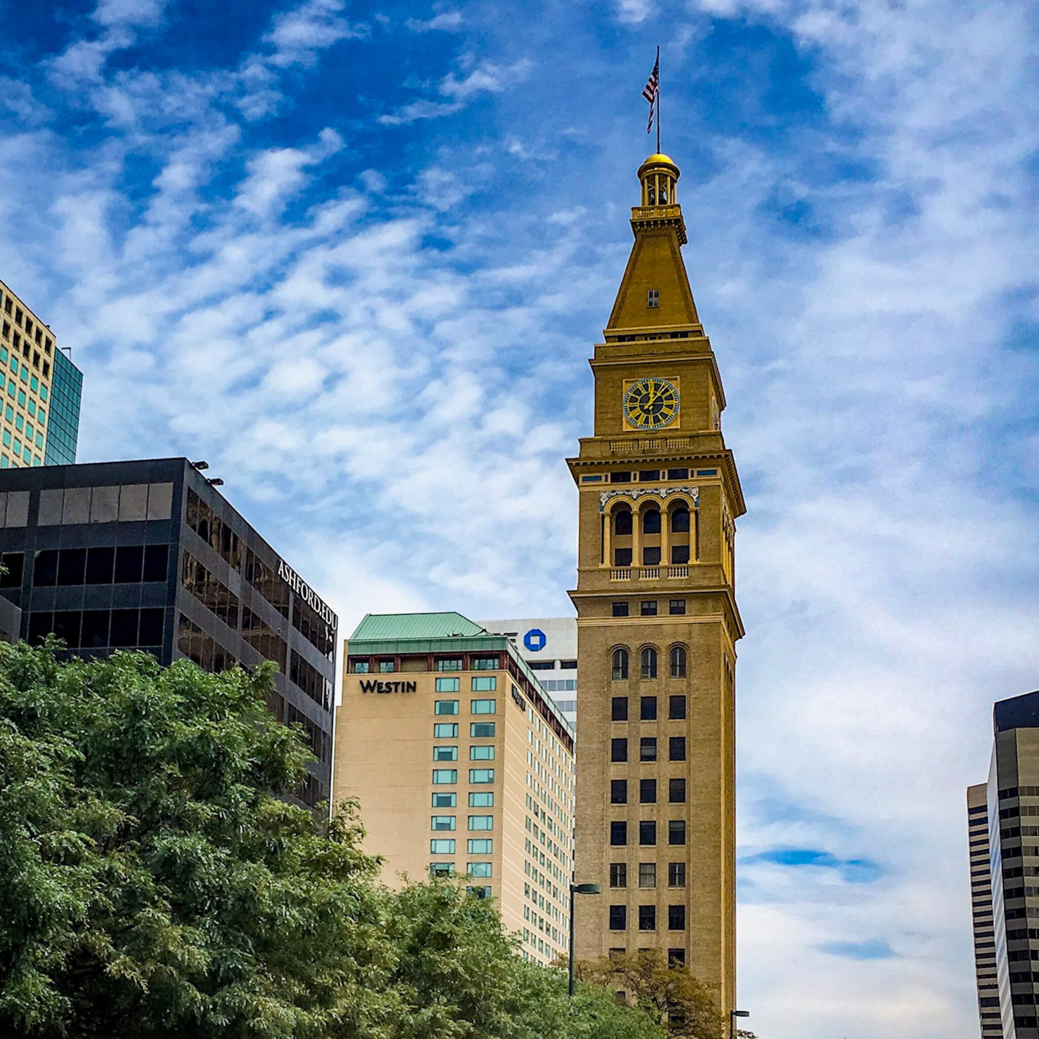 Daniels and Fisher Tower