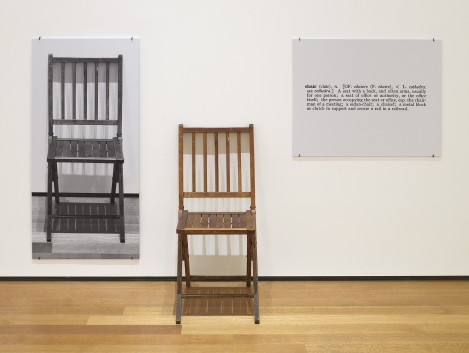 Curiosity - Our company's name, Three Chairs, was inspired by Joseph Kosuth's