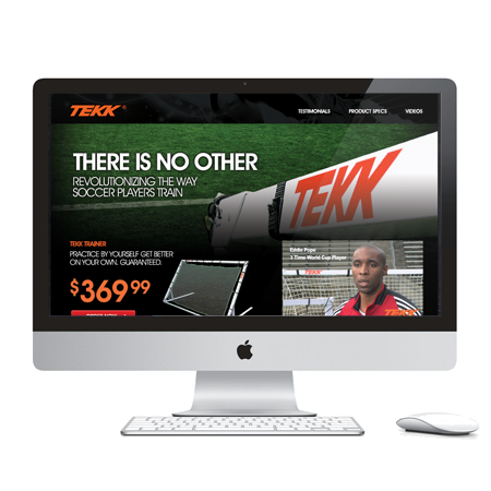 Tekk Trainer (2012)   Bellevue, WA  Tekk® is the leader in the next generation of training equipment. The Tekk Trainer is the strongest and largest trainer on the market with 40 square feet of surface area.
