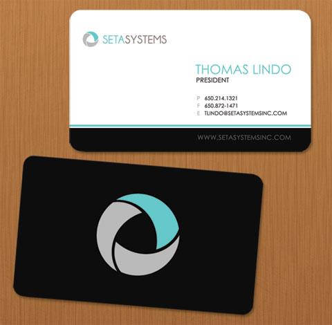 Seta Systems  (2006) Business card designs