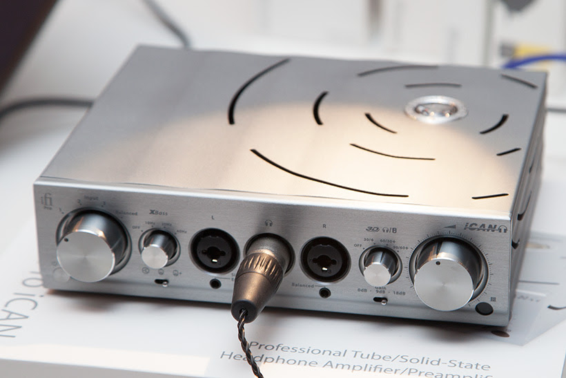 iFi PRO iCAN Headphone Amplifier