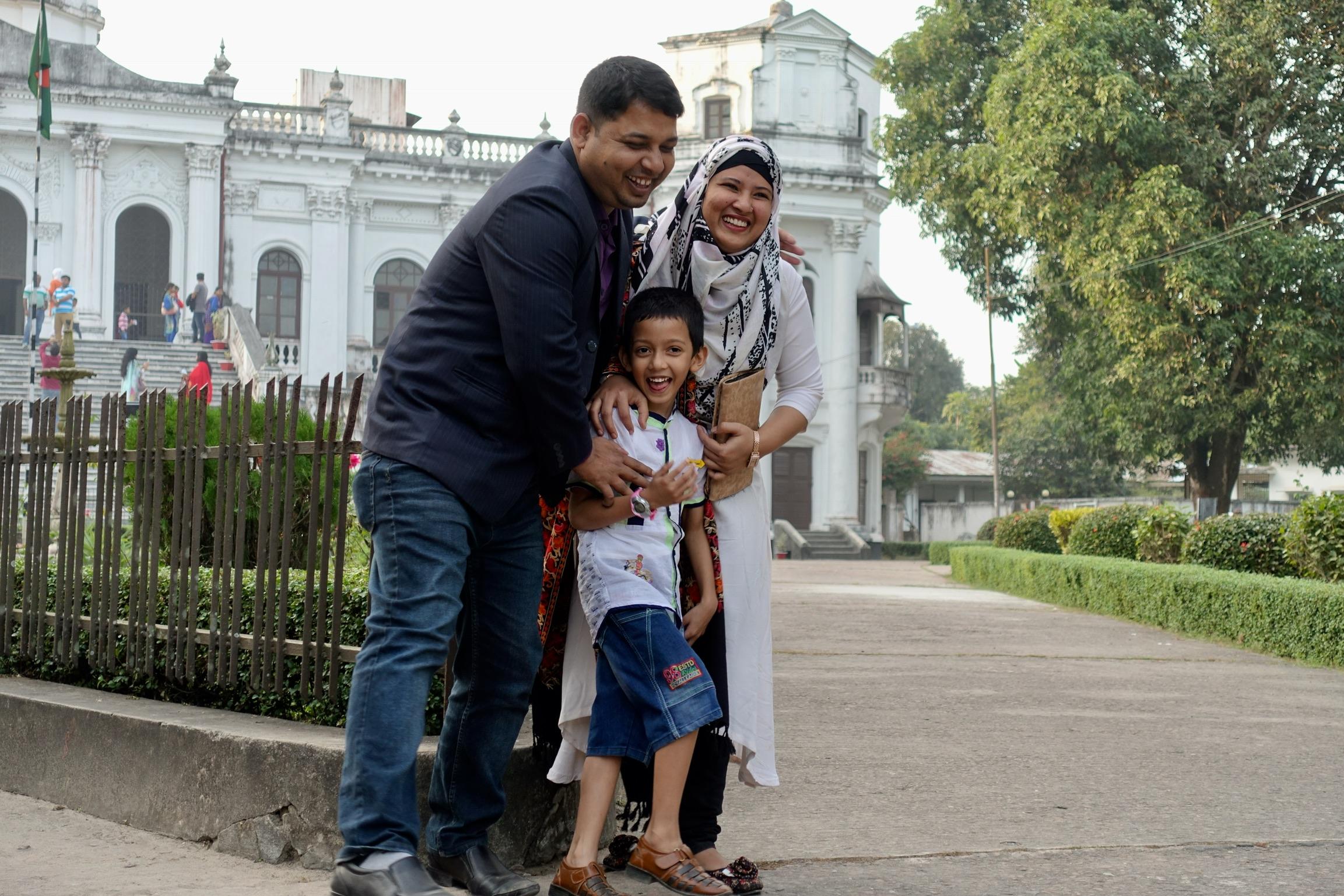 Siyam's family in Rangpur