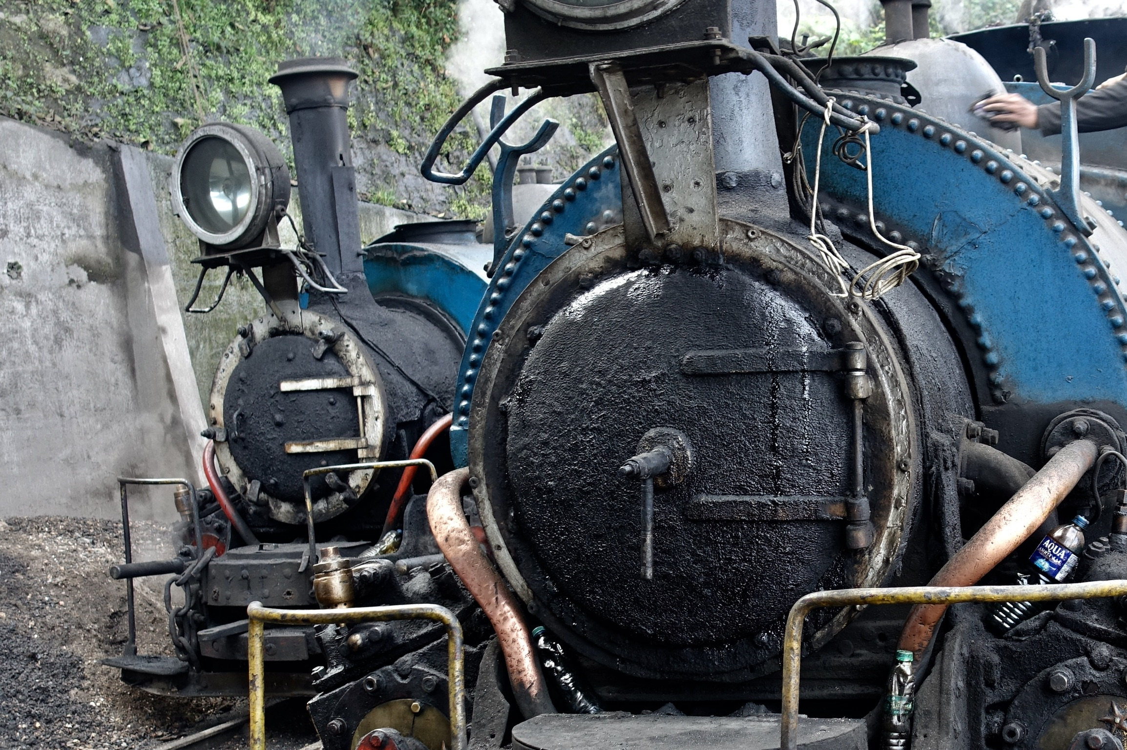 Famous DHR, Darjeerling Himalayan Railway, completed in 1881 to transport rice at a more competitive price to the, at this time, remote area