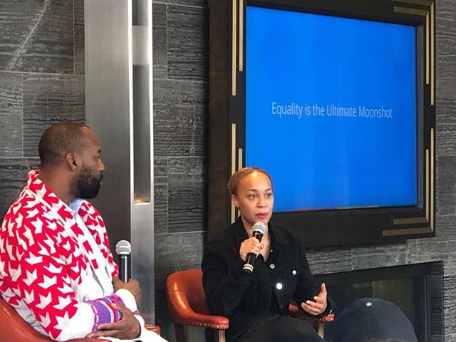 What does your audience need? What value can u provide?  @Morgan DeBaun nailed it with @blavity. 🙏 @Iambarondavis & Morgan 4 sharing your stories @google Authenticity needs #nofilter #media training #business #communications